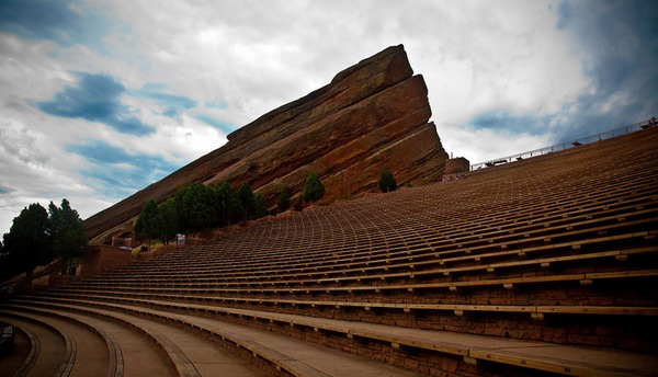 Red Rocks Amphitheater Seating